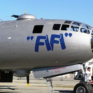 FiFi - The only flyable B-29 in the world